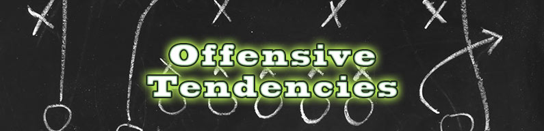 NFL Offensive Tendencies – Week 16