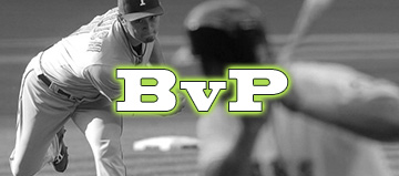 BvP for MVP – Aug. 31