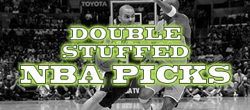 Double Stuffed NBA Picks: 12/11