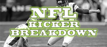 Week 9 Kicker Breakdown