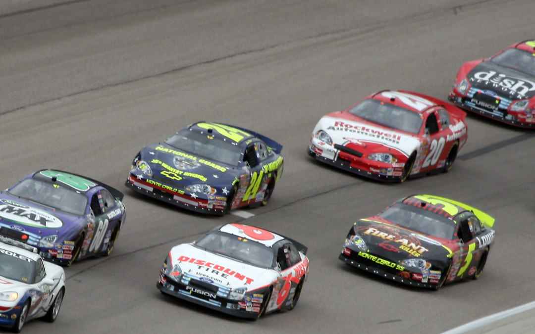 Nascar Grading through Folds of Honor Race