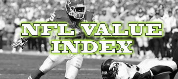 NFL Value Index – Divisional Round