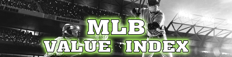 MLB Value Index – August 22